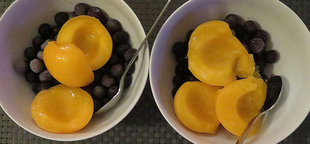 Blueberries for Breakfast / Arándanos Para el Desayuno