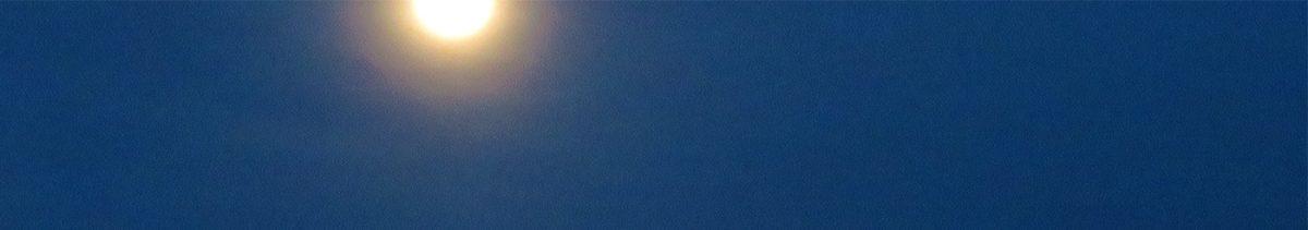 Lockdown Day 55: How High the Moon? / Encierro Día 55: ¿Qué Tan Alto de la Luna?