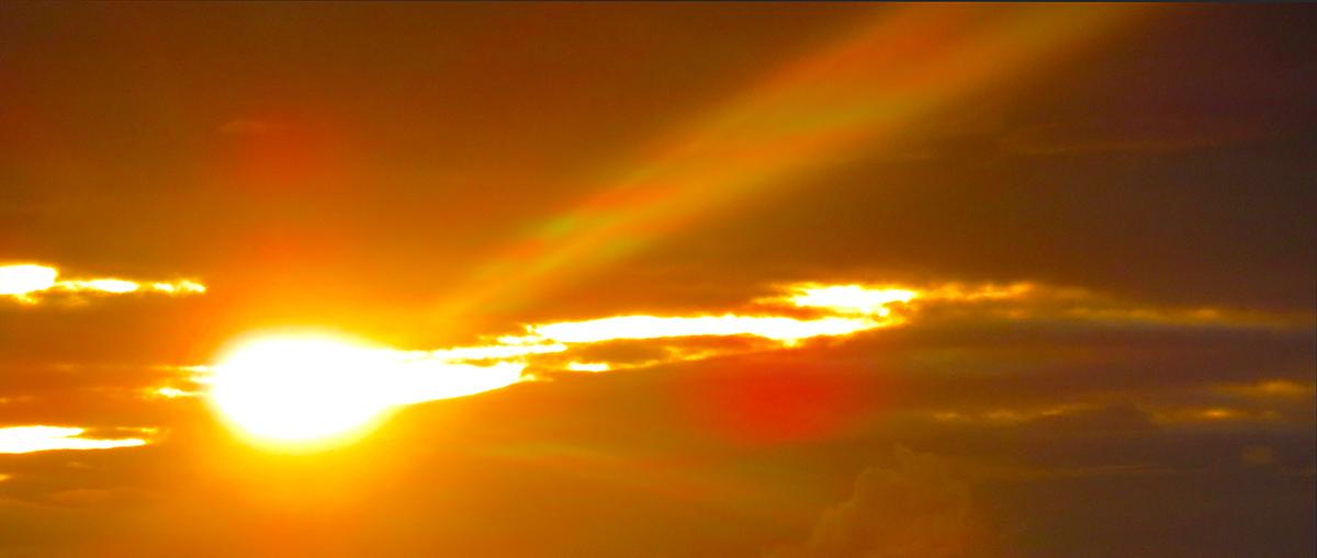 Light my morning sky / Iluminas el cielo de mi mañana
