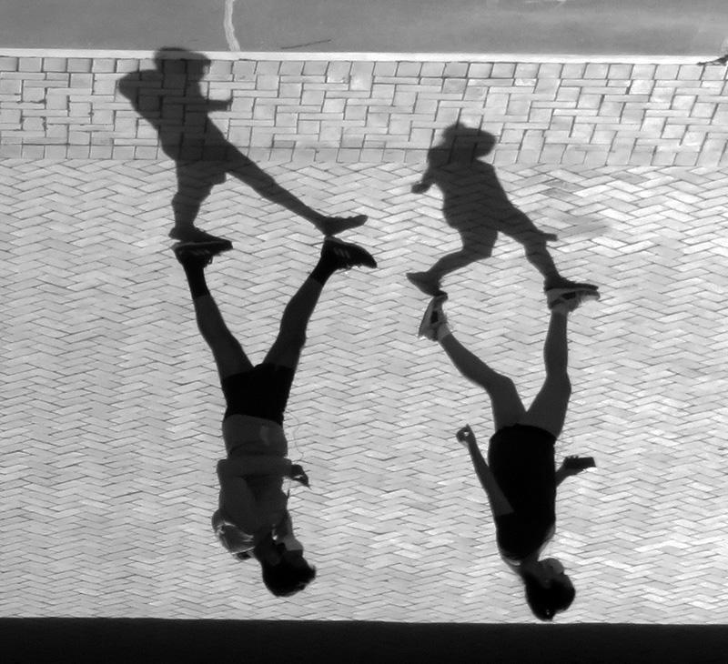 Shadowy twosomes / Sombra parejas