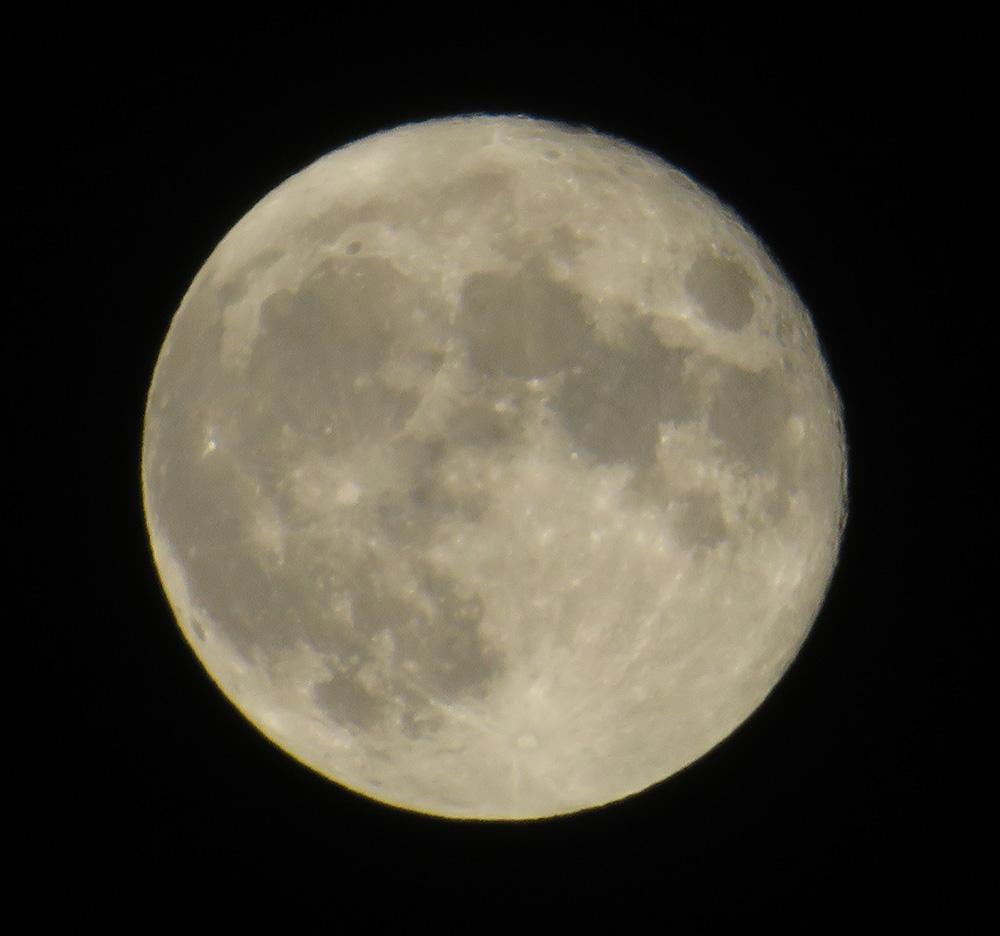 Shine on, harvest moon / Brilla, luna de la cosecha